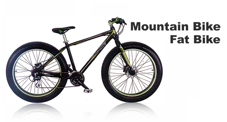 vendita mountain bike e fat bike