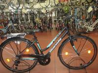 City Bike Spillo Turchese 6V